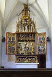 Gothic Altar. The gothic altar of Master Paul of Levoca - Slovakia Stock Photography