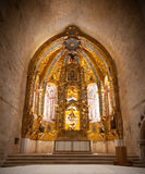 Gothic altarpiece Stock Photo