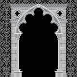 Gothic arch on vintage background Royalty Free Stock Images