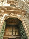 Gothic architectural detail, Duomo Stock Images