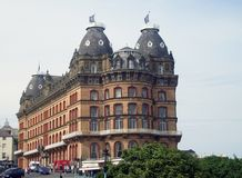 Gothic Architecture. Gothic architrecture of Grand hotel building, Scarborough, England Royalty Free Stock Image