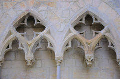 Gothic architecture details Stock Photography