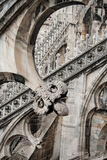 Gothic architecture details Stock Images