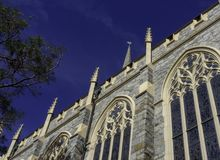 Gothic Architecture of Historic Wilmington Church stock image