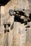 Gothic architecture in Prague Stock Images