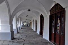 Gothic arkade Stock Photo