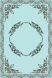 Gothic art frame Stock Photos