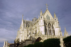 Gothic Basilica Stock Photography