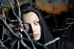 Gothic beauty Stock Photos