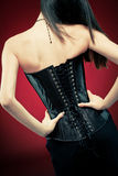 Gothic beauty Royalty Free Stock Images