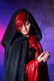 Gothic beauty Stock Photo