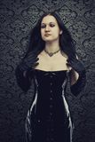 Gothic beauty Stock Image