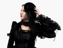 Gothic Beauty Searching stock images