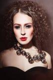 Gothic beauty Royalty Free Stock Photos