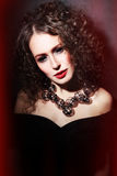 Gothic beauty Stock Images
