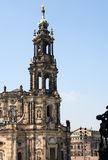Gothic Belfry In Dresden Royalty Free Stock Photo