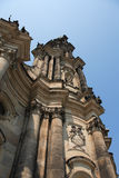 Gothic Belfry In Dresden Stock Photo