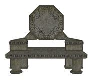 Gothic bench Stock Image