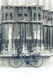 Gothic Bicycle Stock Photo