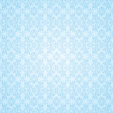 Gothic blue seamless wallpaper Royalty Free Stock Photo