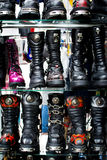 Gothic boots Royalty Free Stock Images