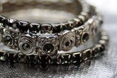Gothic bracelet Royalty Free Stock Photography