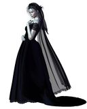 Gothic Bride - 1 Royalty Free Stock Image