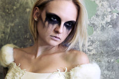 Gothic bride Stock Image
