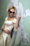 Gothic bride Royalty Free Stock Photography