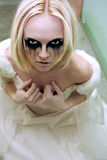 Gothic bride Stock Photos