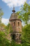 Gothic bridge tower near Pyrmont castle Stock Images