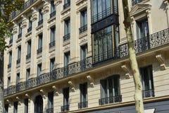 Gothic budynek w Paryż Zdjęcia Stock