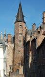 Gothic building. In Brugge -Belgium Stock Images