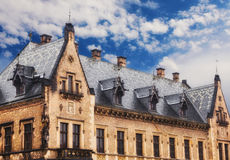 Gothic building in the Old Town, Prague Royalty Free Stock Images