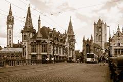 Gothic buildings Stock Photos