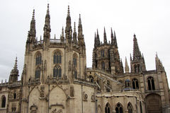 Gothic burgos Royalty Free Stock Images