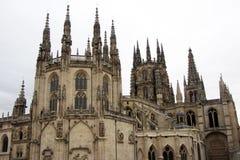 Gothic burgos royalty free stock images