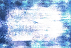 Gothic burn. A blue abstract background in the gothic style royalty free illustration