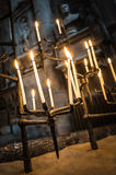 Gothic candles Stock Photo