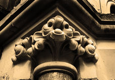 Gothic capital Stock Images