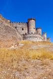 Gothic  castle in Belmonte. Cuenca, Spain Royalty Free Stock Photography