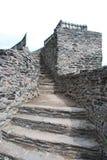 Gothic castle, Czech republic royalty free stock images
