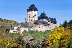 Gothic castle Karlstejn, Czech republic Royalty Free Stock Image