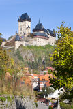 Gothic castle Karlstejn, Czech republic Royalty Free Stock Images