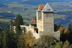 Gothic castle Kasperk Stock Image