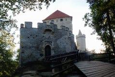Gothic castle Kokorin Stock Images