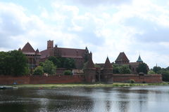 Gothic castle in Malbork, Poland Stock Photos