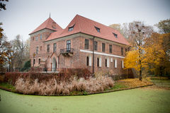 Gothic castle in Oporow, Poland Royalty Free Stock Photography