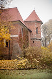 Gothic castle in Oporow, Poland Royalty Free Stock Photos