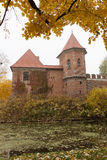 Gothic castle in Oporow, Poland Royalty Free Stock Images